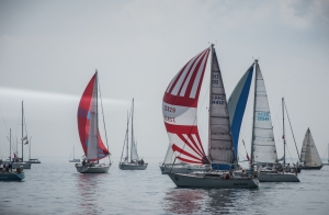 Port Huron to Mackinac Race.  Copyright 2015 Grace Grogan
