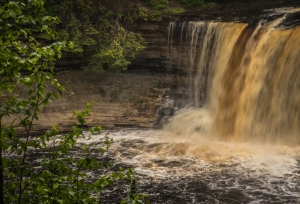 Tahquamenon Falls.  Copyright 2015 Grace Grogan.