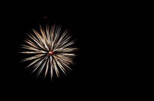 Fireworks at Vantage Point.  Copyright 2015 Grace Grogan
