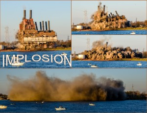 Implosion. Photos by Grace Grogan, Copyright 2015