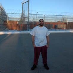Patrick -- this single photo is on the OUTSIDE of the prison.